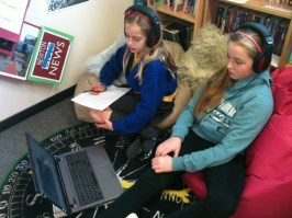 This group is using o-generator to compose some theme music for their Titanic Quiz.