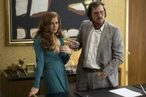 Amy Adams and Christian Bale in David O. Russell's American Hustle.
