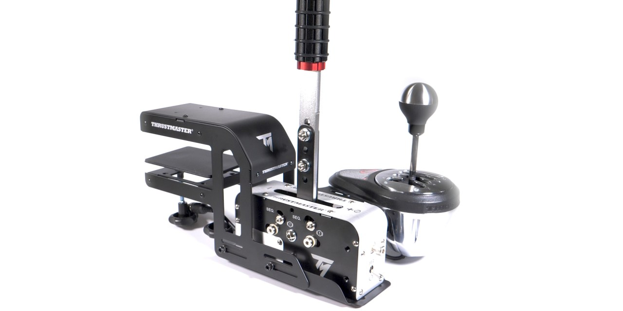 Thrustmaster TSS Handbrake Sparco Mod | Sim Racing Shifter and Handbrake
