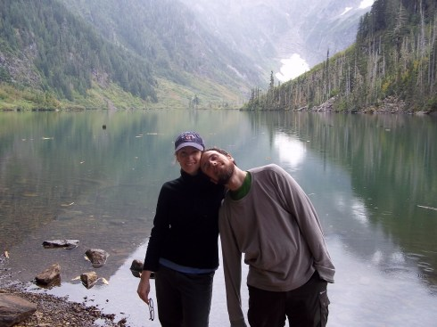 At Goat Lake in the Cascades.