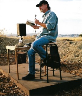 Reading at Muir Home, Martinez, CA