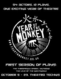The season promo for the first shows of Year of the Monkey.