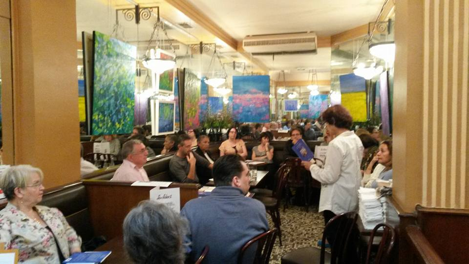 rencontres et lecture au cafe Le Select