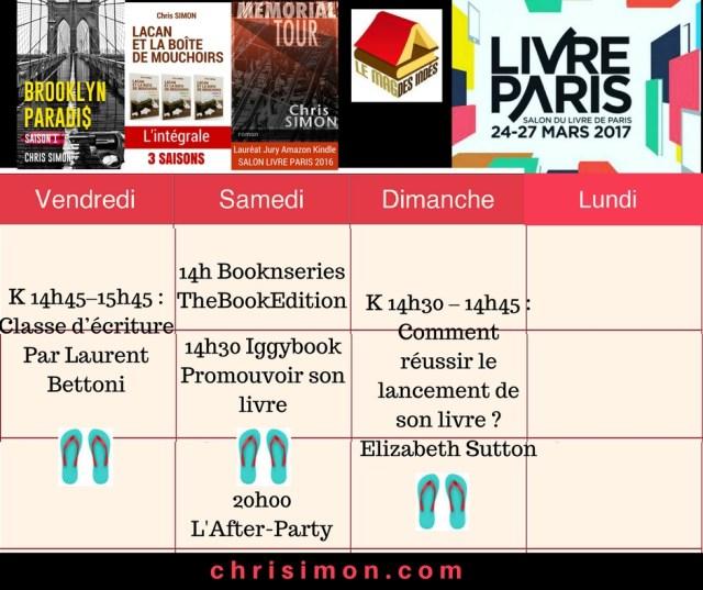 Livre Paris 2017 Chris Simon