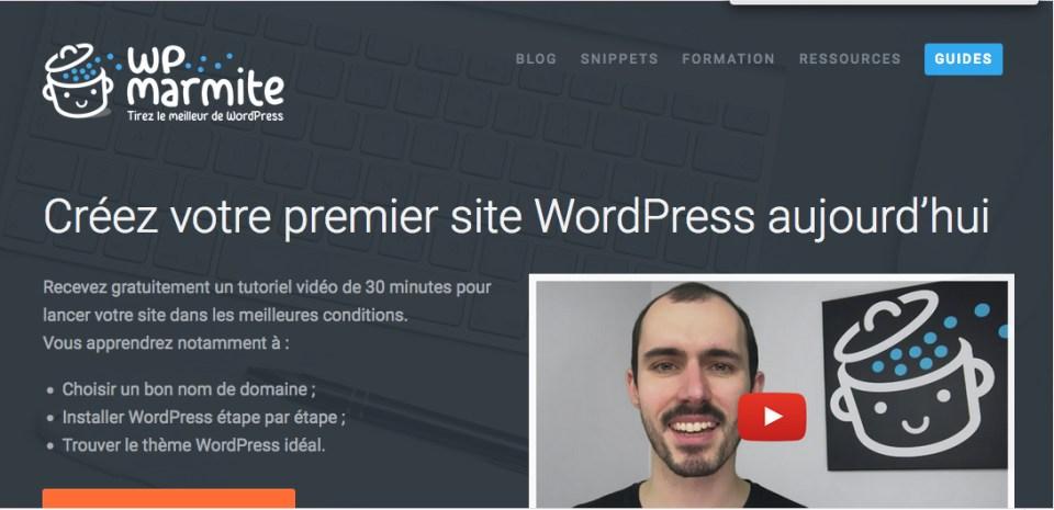 La Marmite WordPress