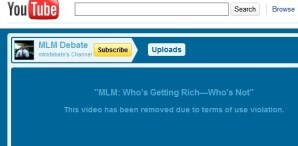 One of Time Sales many YouTube profiles affected by Google's anti home business policy
