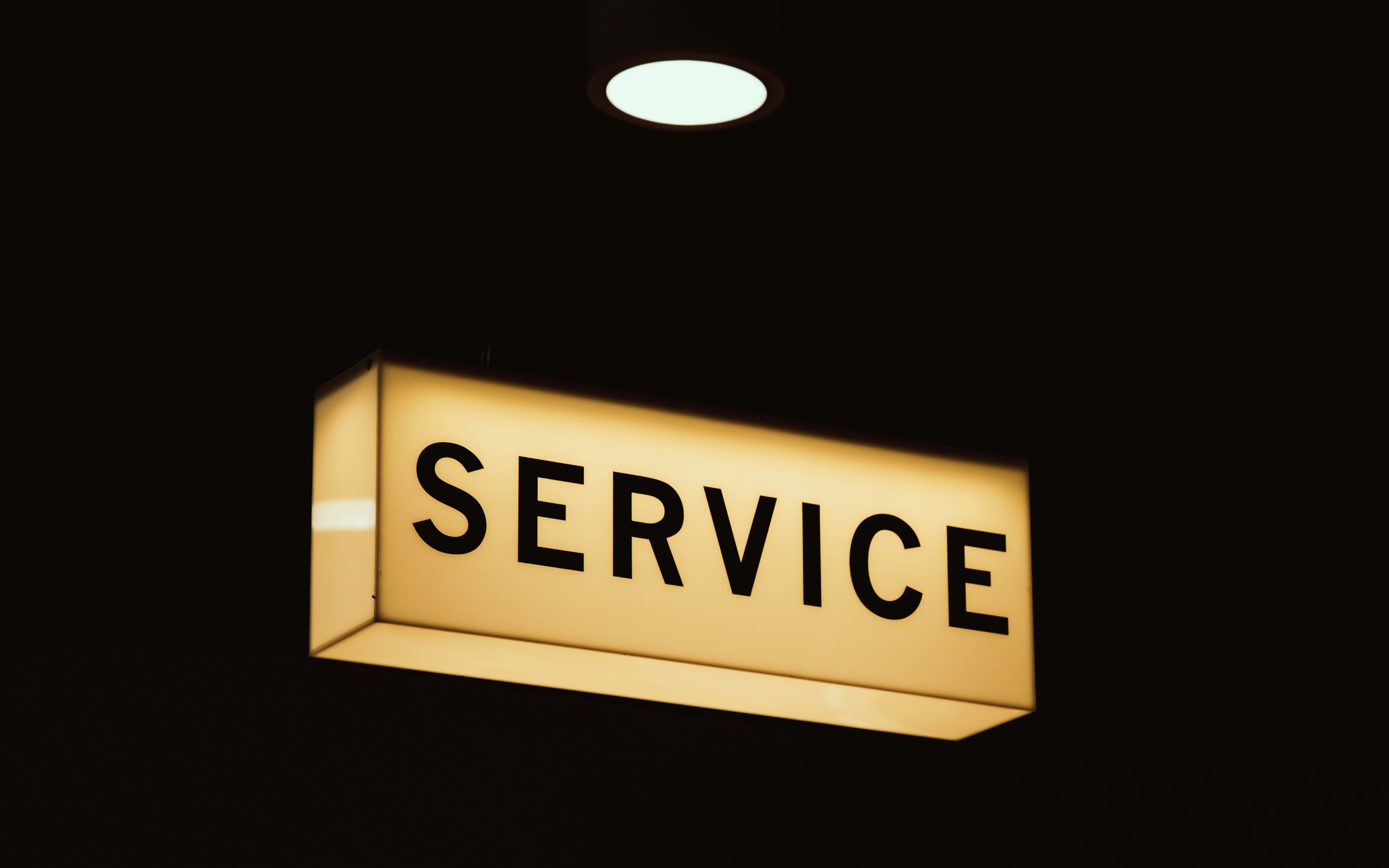 Service Sign