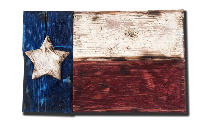 Texas Flag Concealment Wall Art Large Loading Zoom