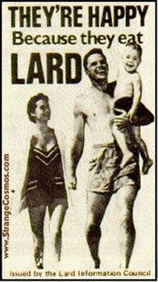 Picture of lard advertisement