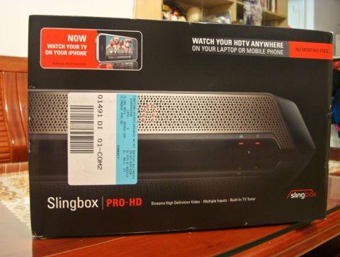 SlingBox Pro HD外盒正面