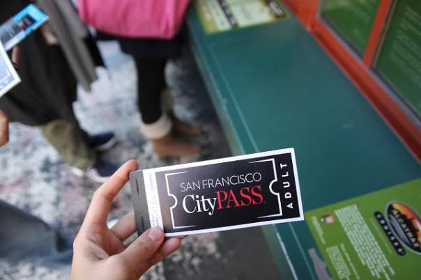 剛買到手的CityPASS