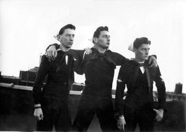 Enest, Knox, Morris Martin (WKM's sons)
