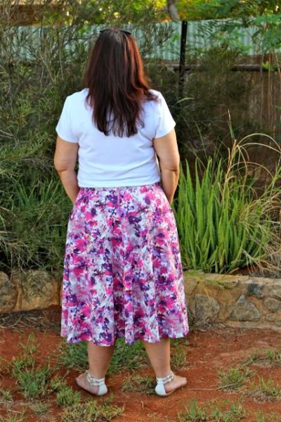 Hollyburn Skirt Rear View - Chris Lucas