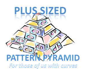 Plus Size Pattern Pyramid Logo