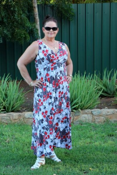 Maxi Dress No 1 with Sun Glasses