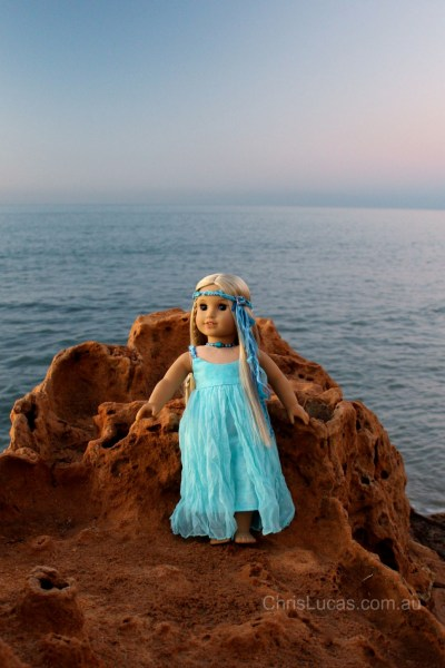 New Dolls Dress I called Sea Breeze