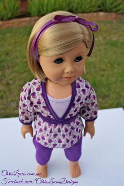 American Girl Doll Outfit GIVEAWAY - Chris Lucas Designs worn by AG Doll Kit