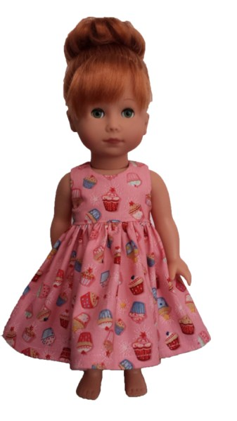 Gotz Just Like Me Doll - Dress Sewing Pattern - Chris Lucas Designs
