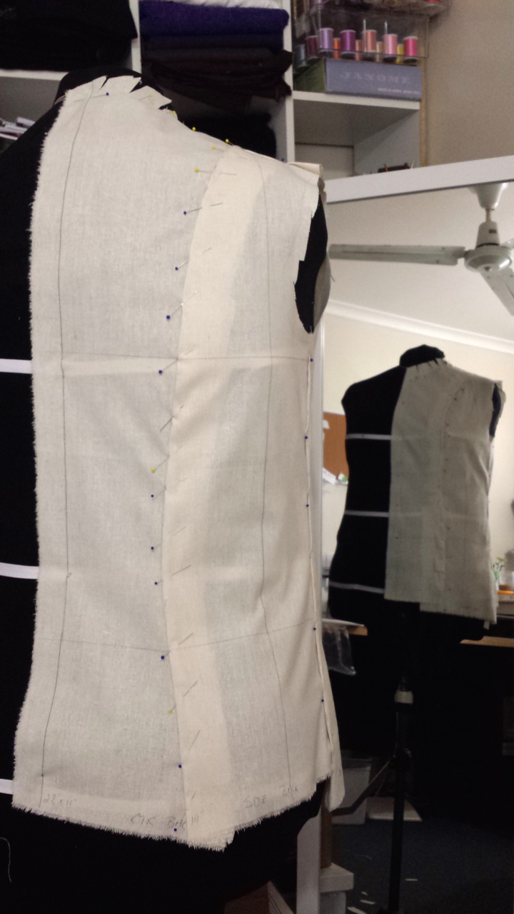 Fashion Draping - Pin Placement