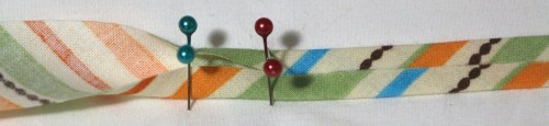Continue pressing bias binding - Bias Binding Tutorial