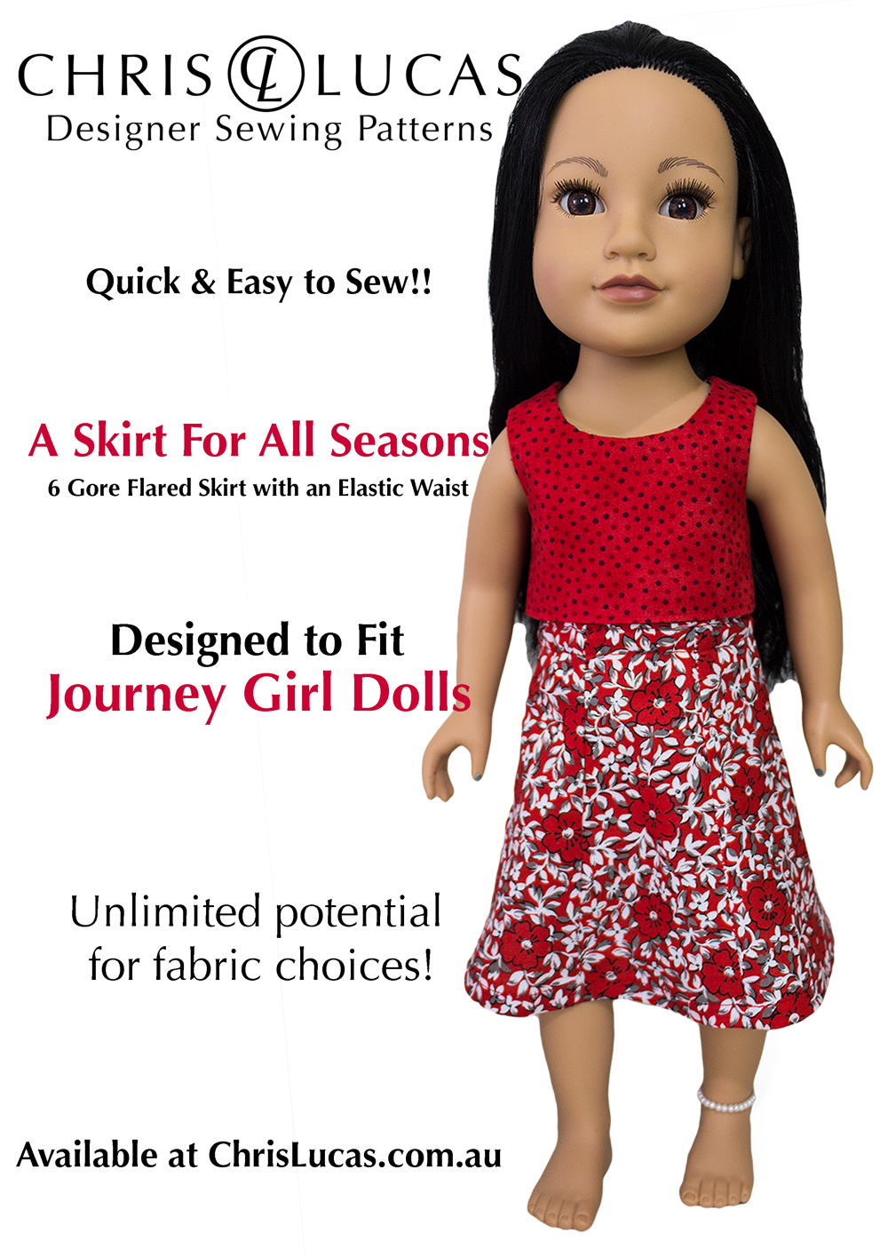 journey-girl-dolls-sewing-pattern-a-skirt-for-all-seasons-chris-lucas-designs