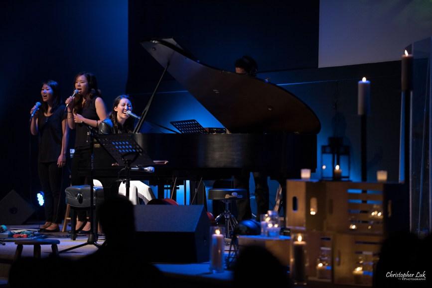 Rachelle Luk Live Concert Gospel Music Association Canada Covenant Award Winner Singer Songwriter Background Vocalist Emily Chan Jessica Tsuda Teh