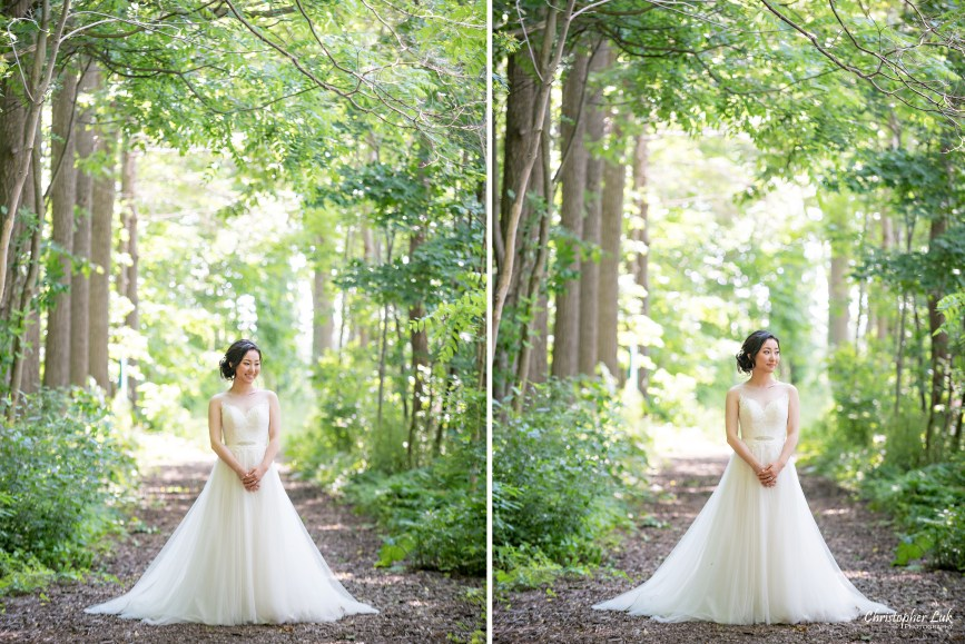 Christopher Luk Toronto Wedding Photographer - Casa Loma Conservatory Ceremony Creative Photo Session ByPeterAndPauls Paramount Event Venue Space Natural Candid Photojournalistic Vellore Town Hall Vaughan Woodbridge Greenery Forest Bride Fairy Princess Goddess