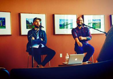 David Gungor & Jon Arndt of The Brilliance