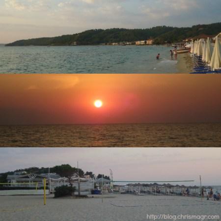 Fourka-Sunset