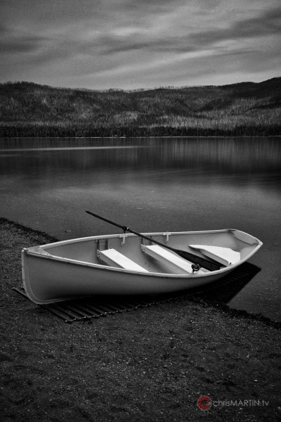 McDonald Lake Row Boat, Glacier National Park, MT
