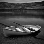 McDonald Lake Row Boat, Glacier National Park, MT