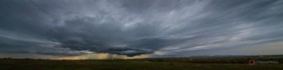 Thunderstorm Pano, Indiahoma, OK