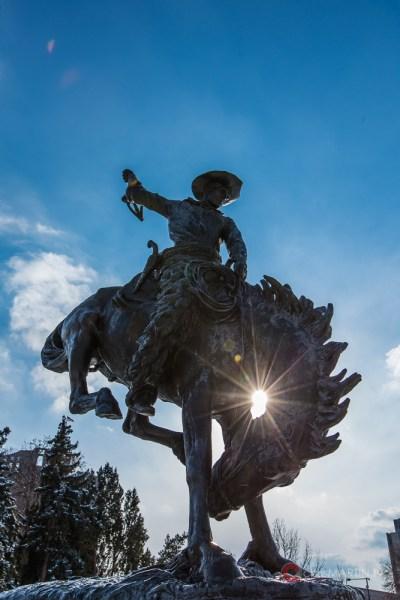 Broncho Buster, Civic Center, Denver, CO