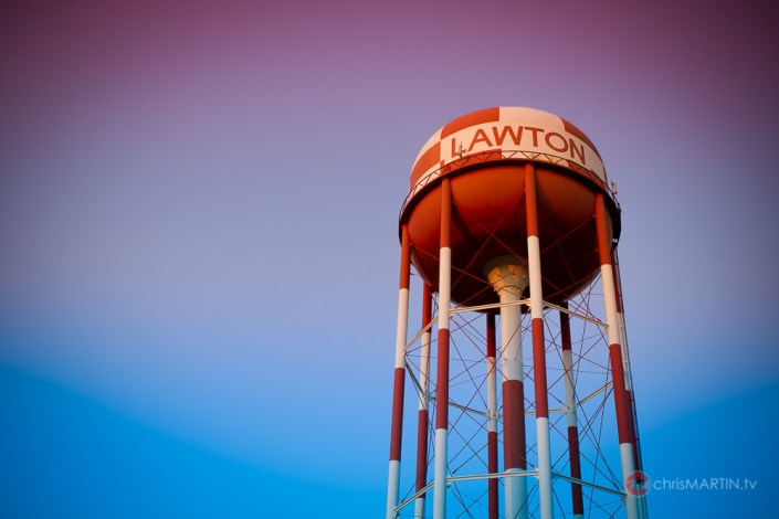 Water Tower, Lawton, OK