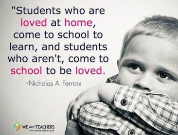 students who are loved