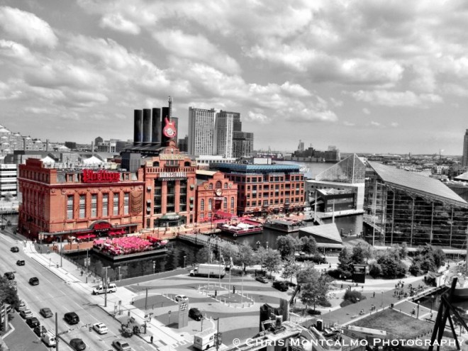 Baltimore Power Plant Colorsplash