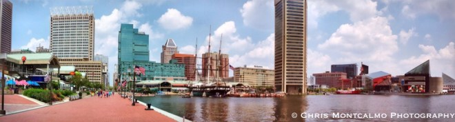 Inner Harbor Panoramic