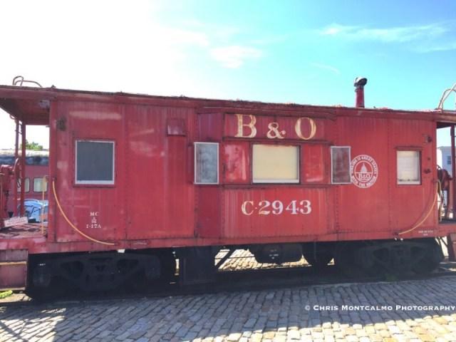B&O Railroad Caboose