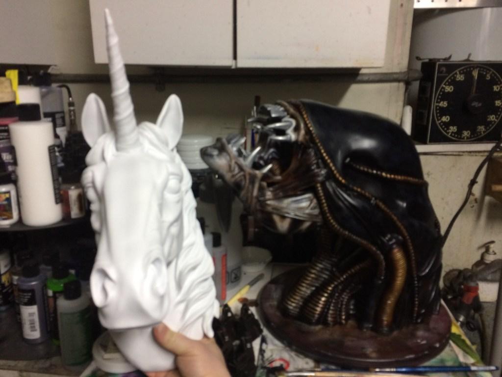 Unicorn and Xenomorph