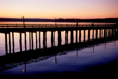 W-24  Wharf at Sunset 2-3