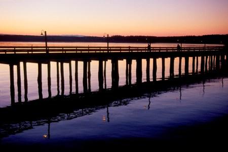 W-24  Wharf at Sunset 2-3