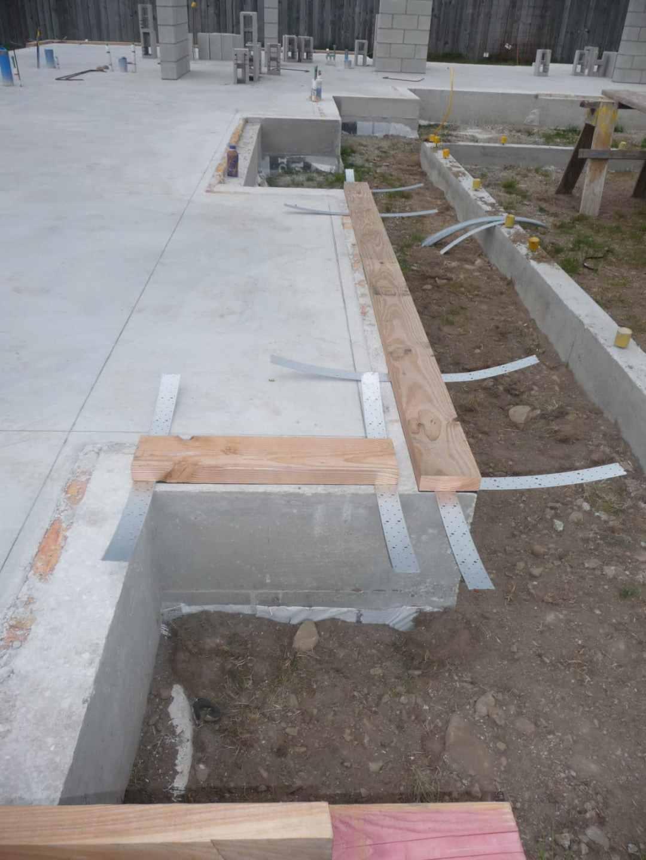 Bottom plate planed flat