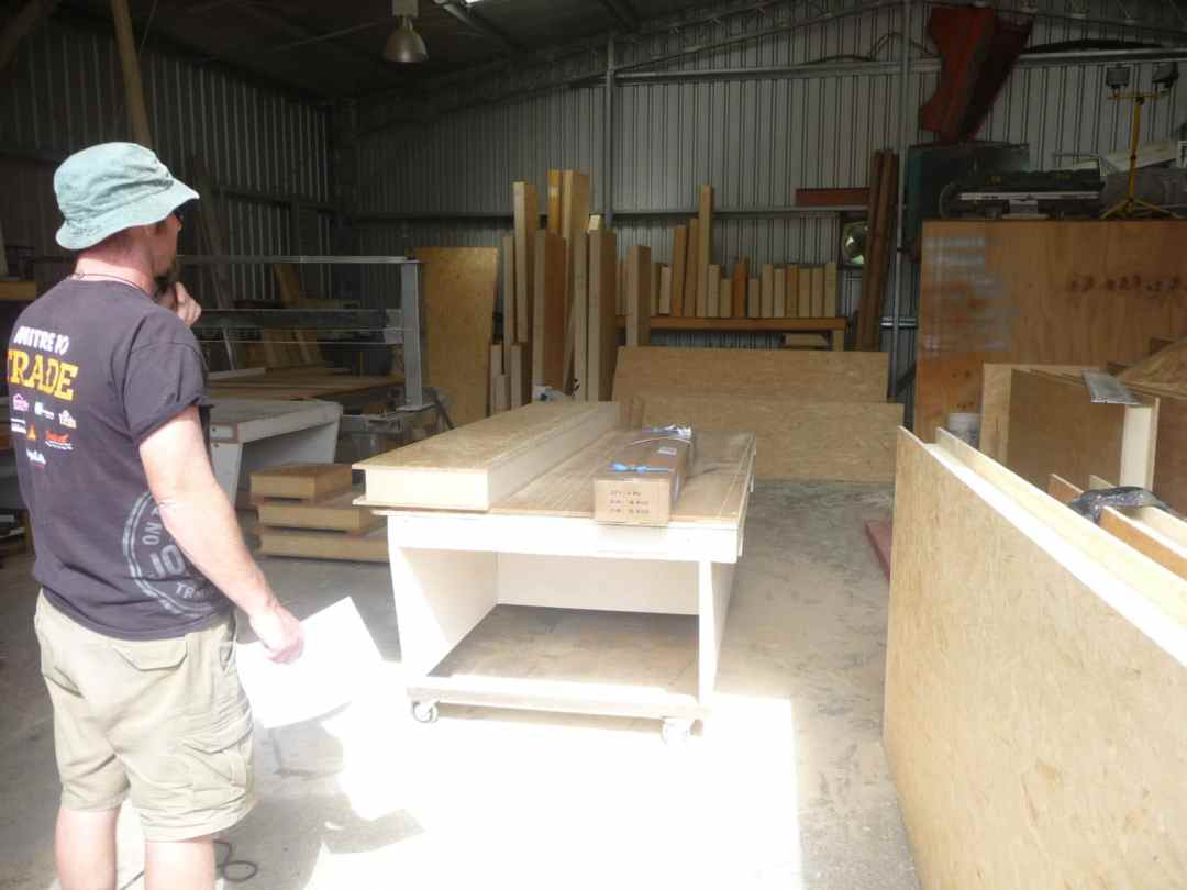 Kingspan Tek Panels in the Kia Kaha workshop