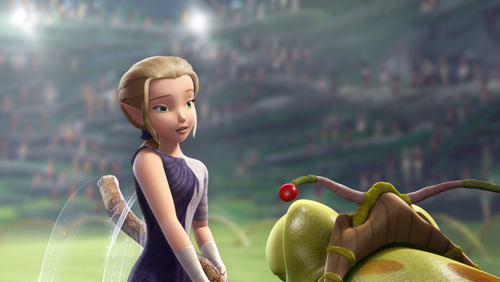 Final rendered frame featuring 'Glimmer' from Disney's 'Pixie Hollow Games'