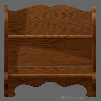Antique Shelf Concept Art from Tinker Bell & The Great Fairy Rescue