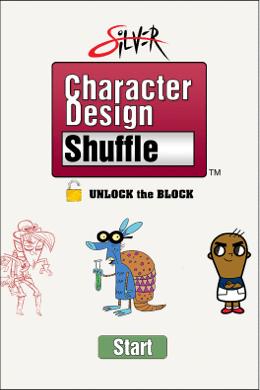 Silver-Character-Design-Shuffle