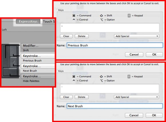 Rotate Brushes In Photoshop With Custom Wacom Settings
