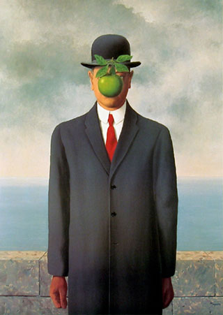 'The Son Of Man' by René Magritte