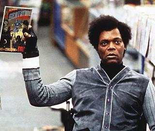 "Samuel L. Jackson as Mr. Glass. Scene from ""Unbreakable."""