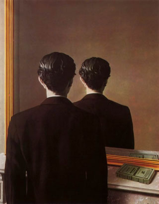 'Not To Be Reproduced' by René Magritte